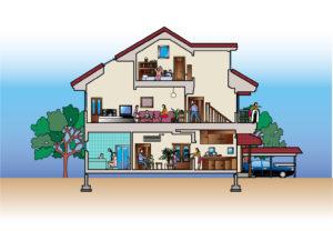 注文住宅であると便利なオプション